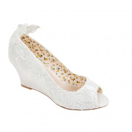 Bridal Shoe - Flora