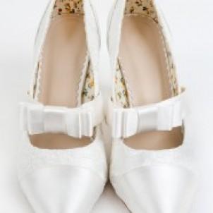 Bridal Shoe - Aster
