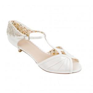 Bridal Shoe - Rosetta