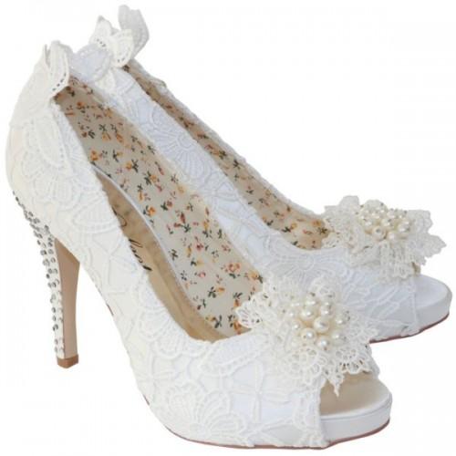 Bridal Shoe - Flo