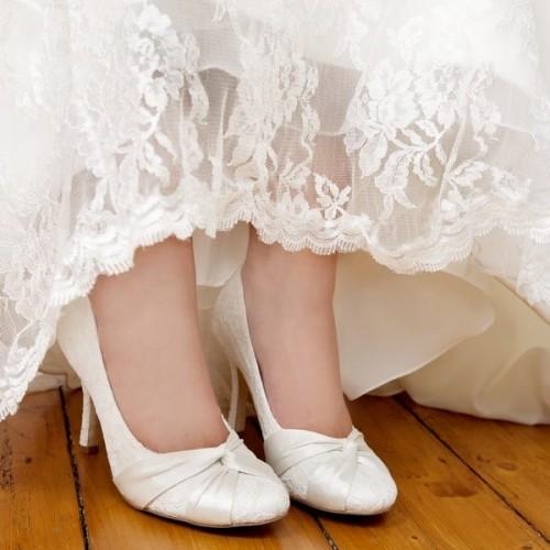 Bridal Shoe - Lily