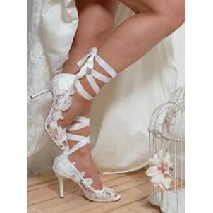 Bridal Shoe - Voilet